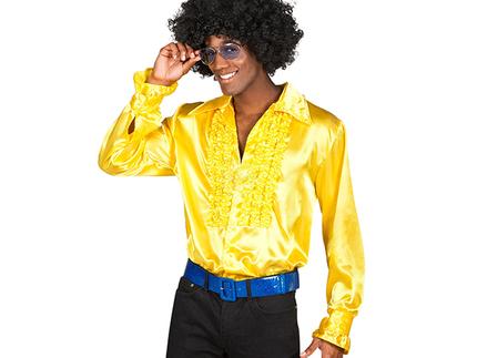BLD-02131 Party Shirt gelb (M, 46-48)