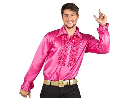 BLD-02137 Party Shirt pink (L, 50-52)