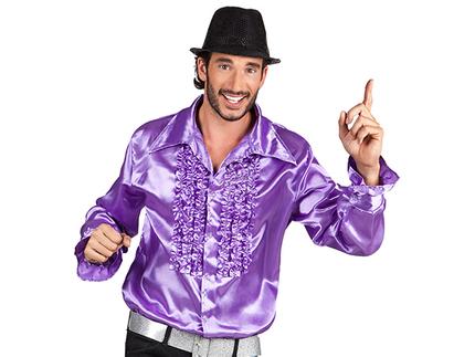 BLD-02147 Party Shirt violett (L, 50-52)