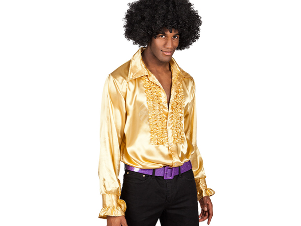 BLD-02161 Party Shirt gold (M, 46-48)