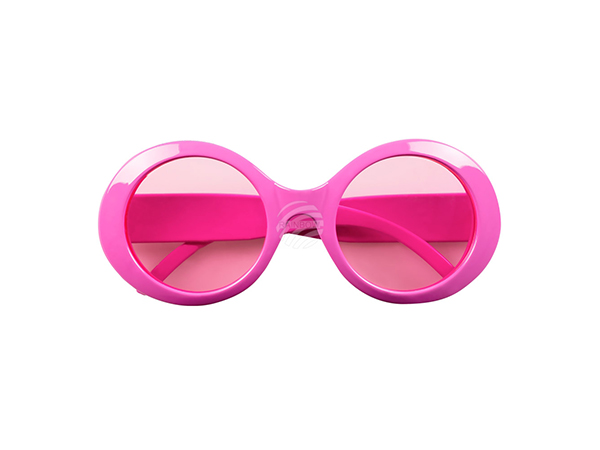 BLD-02619 Partybrille Jackie neonrosa