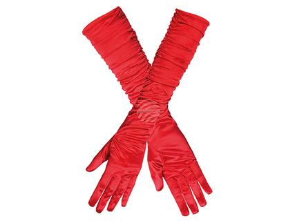 BLD-03142 Handschuhe Ellenbogen Hollywood rot