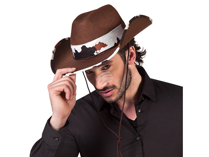 BLD-04379 Cowboyhut Texas bull