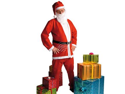 BLD-13411 Erwachsenenkostüm Weihnachtsmann promo (M/L)