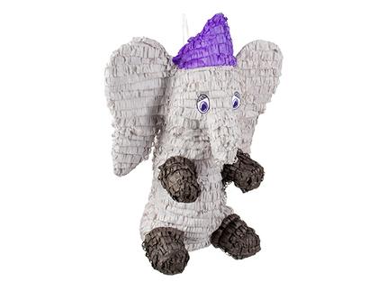 BLD-30917 Mexikanische Piñata Elefant (52 x 43 cm)