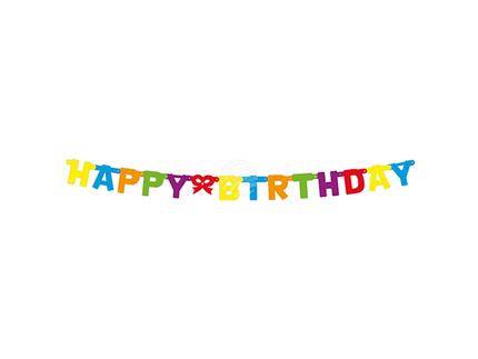 BLD-43101 Buchstabengirlande 'Happy Birthday'