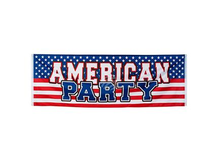 BLD-44953 Polyester Banner USA (74 x 220 cm)