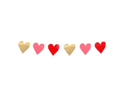 BLD-48004 Girlande Karton Love (2 m)