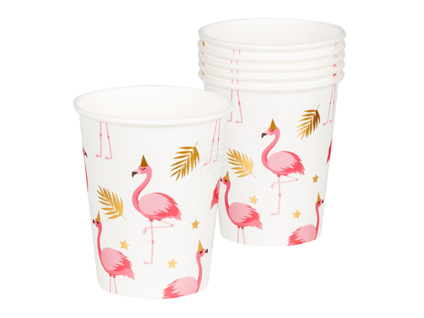 BLD-52556 6 Becher Flamingo (25 cl)