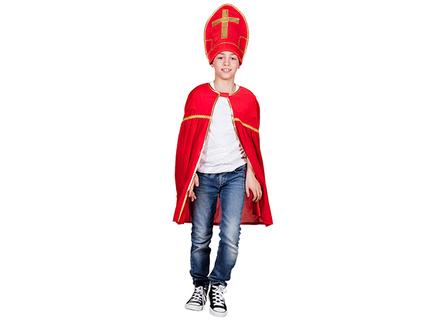 BLD-56602 Kinderkostüm Sankt Nikolaus (5-10 Jahre)