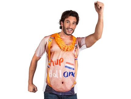 BLD-61853 Fotorealistisches Shirt Mega Fan (M/L)
