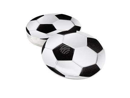 BLD-62511 6 Deckel Football (10 cm)