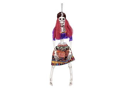 BLD-71998 Dekoration Skelett Zigeunerin (40 cm)