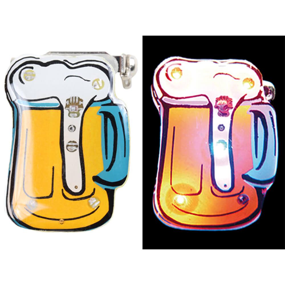 BL-096 Blinki Blinker gelb weiss Bier
