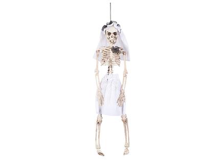 BLD-72089 Dekoration Skelett Braut (40 cm)