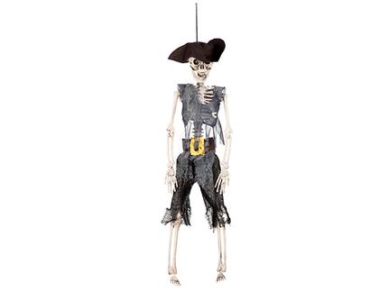 BLD-72091 Dekoration Skelett Pirat (40 cm)