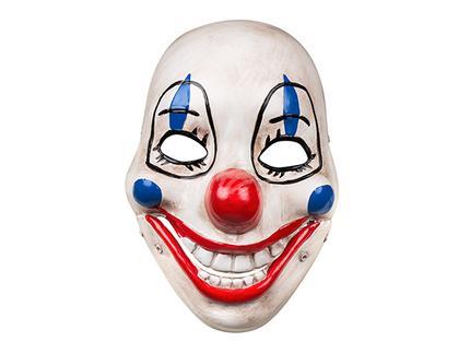 BLD-72211 Gesichtsmaske Horror Clown mit beweglichem Kiefer
