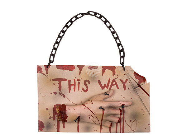 BLD-72233 Horror Wegweiser 'This way' (19 x 31 cm)