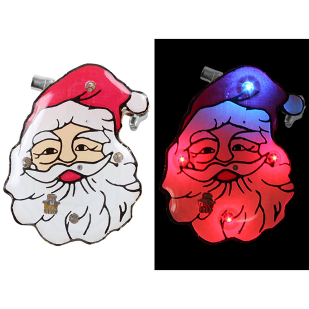 BL-056 Blinki Blinker rot weiss Weihnachtsmann