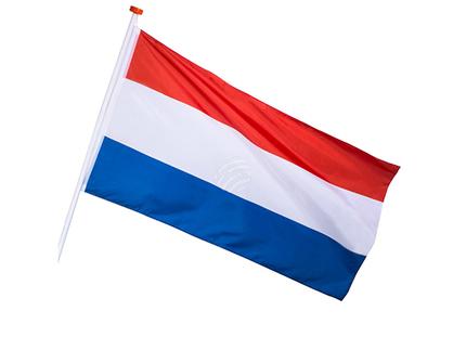 BLD-74316 Fassade Fahne Niederlande 90x150cm
