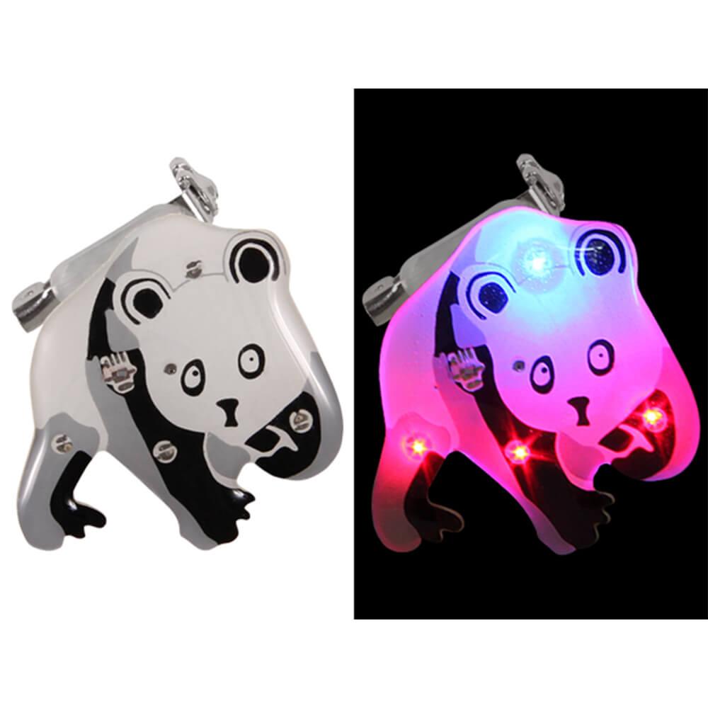 BL-122 Blinki Blinker schwarz weiss Panda