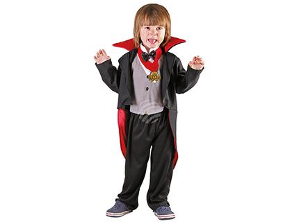 BLD-78091 Kinderkostüm Gruseliger Vampir (3-4 Jahre)