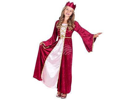 BLD-82143 Kinderkostüm Renaissance Königin (7-9 Jahre)