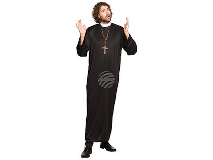 BLD-83815 Erwachsenenkostüm Priester (M/L)