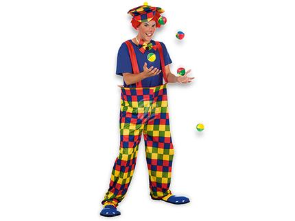 BLD-83826 Erwachsenenkostüm Clown Bonbon (M/L)