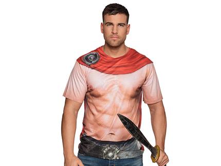 BLD-84384 Fotorealistisches Shirt Spartaner (L)