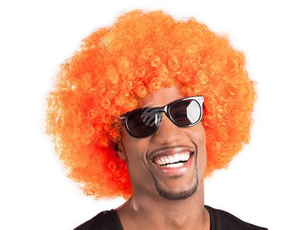 BLD-86022 Perücke Afro orange