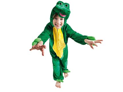 BLD-88274 Kinderkostüm Krokodil Plüsch (max. 1.16 m)