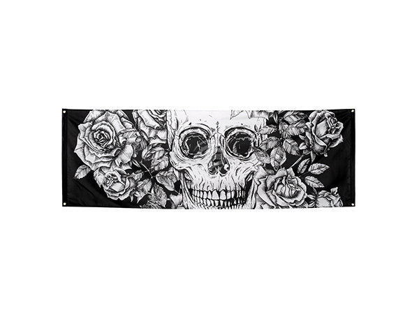 BLD-97071 Polyester Banner Day of the dead (74 x 220 cm)