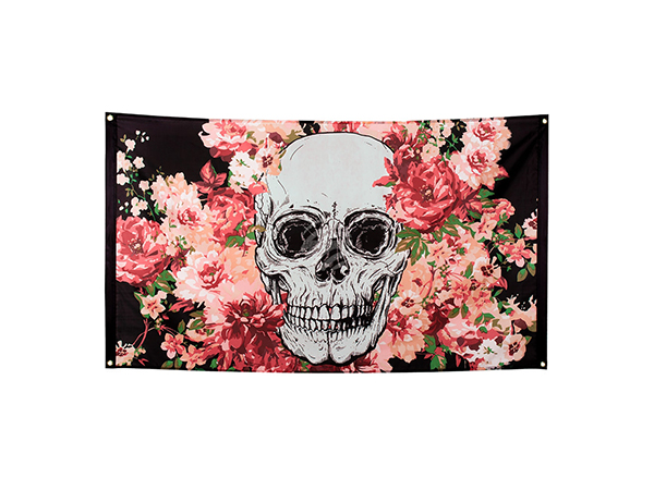 BLD-97072 Polyester Fahne Day of the dead (90 x 150 cm)