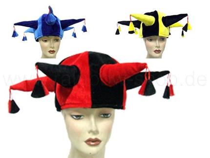 KH-101 Karnevalshut Fasching verrückter Hut aus Plüsch