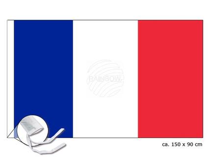 FL-07 Flagge Frankreich Abmessung (BxH) 150 cm x 90 cm