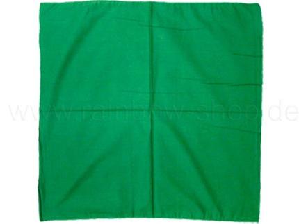 BA-145 Bandana Kopftuch Halstuch Design: unifarben Farbe: grün
