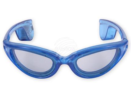 LB-02 LED Leuchtbrille blau Motiv: Sportbrille – Bild 4