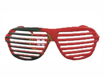 V-820pt Länderbrillen Flaggen Fan Brille WM 2011 Portugal