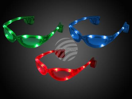 LB-05 LED Leuchtbrille sortiert Motiv:  Sportbrille