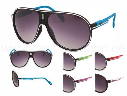 V-956 VIPER Damen und Herren Sonnenbrille Form: Design Pilotenbrille Farbe: farbig sortiert,  VIPER Logo, Streifendekor