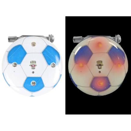 BL-211 Blinki Blinker weiss blau Fussball
