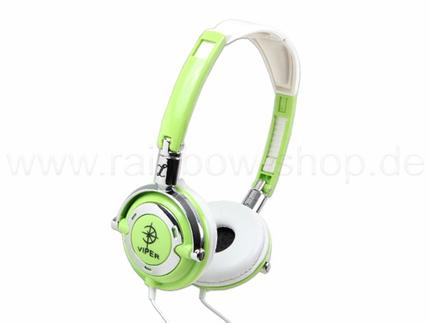 KO-38  Stereo Kopfhörer Trendheadset Großhandel Farbe: grün