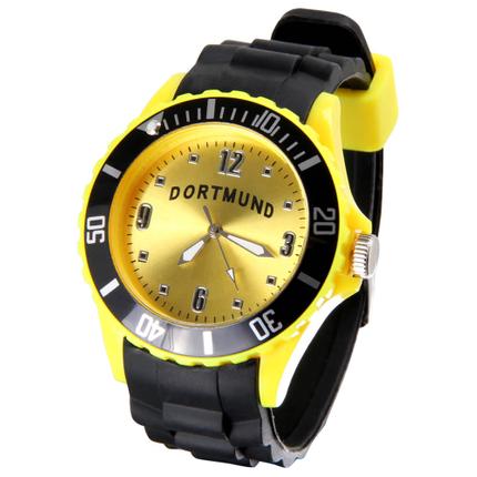 UR-251 Uhren Armbanduhren Städteuhren Fanartikel Dortmund schwarz Ø ca. 4,4 cm