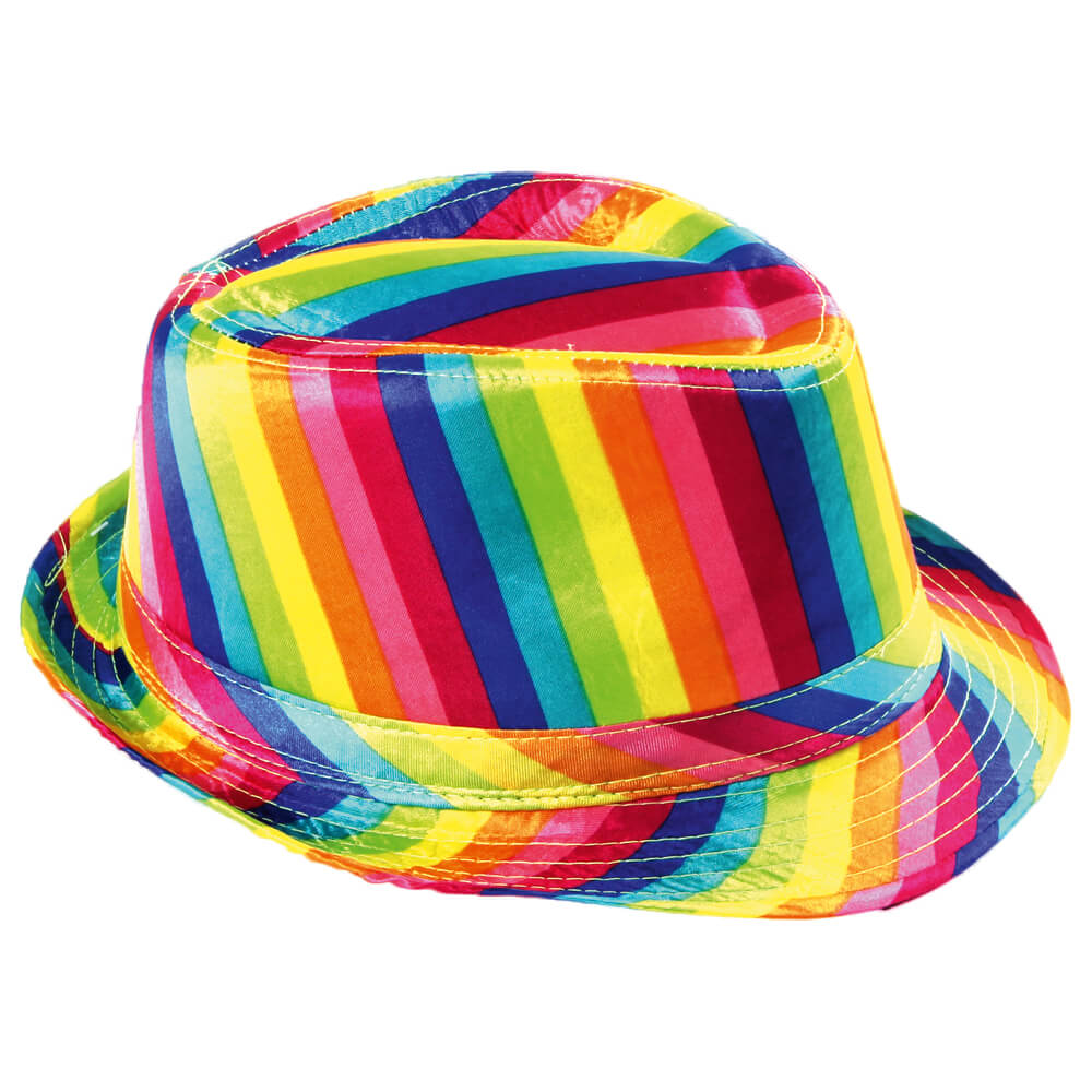 TH-66 Trilby Hüte bunt multicolor