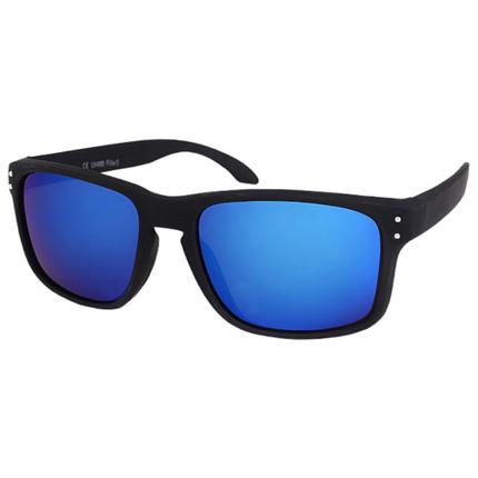 V-1212 VIPER Damen und Herren Sonnenbrille Form: Vintage Retro Farbe: matt schwarz, Ziernieten – Bild 4
