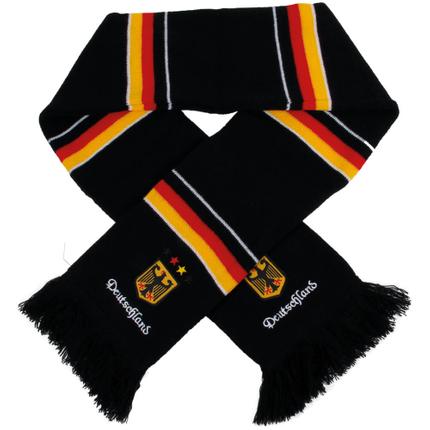 FS-61 Schals Fanschals schwarz Flaggen Deutschland Adler Wappen