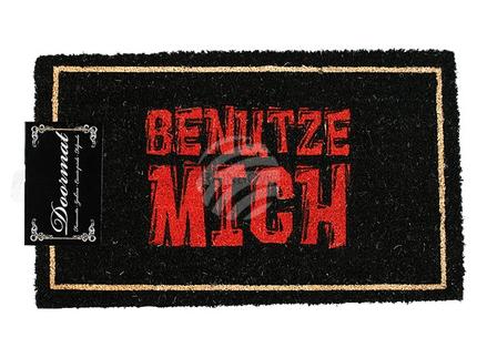 14-2085 Fußmatte, Benutze Mich, ca. 75 x 45 cm, mit Headercard zum Aufhängen