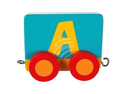 17-0912 Holz-Buchstabenwaggon A