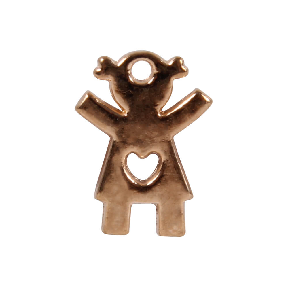 DK-39 Flying Charm Inlay Kupfer Puppe